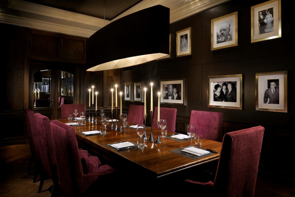 Gentlemans Butler Fine Dining JW Steakhouse London Private Dining