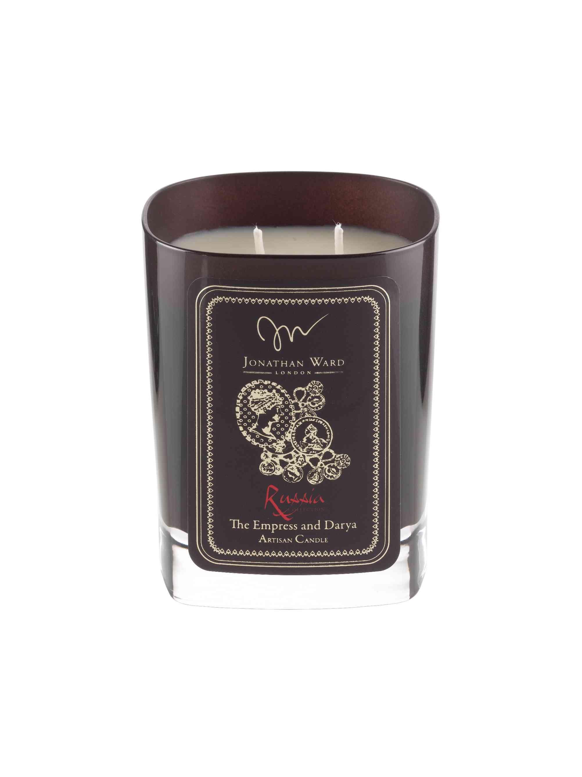 "Jonathon Ward scented candle ""The Empress and Darya"" - www.gentlemansbutler.com"