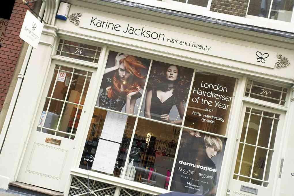 Karine Jackson - Westend shopfront - www.gentlemansbutler.com