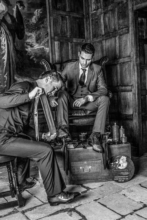 Shoe Shine UK, Steven Skippen - www.gentlemansbutler.com