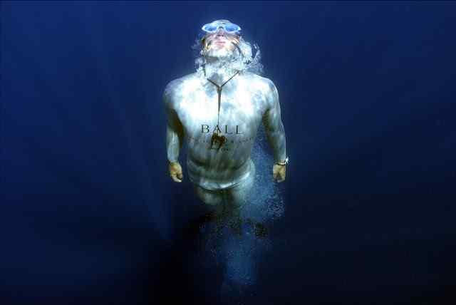 Guillaume Nery French free diver