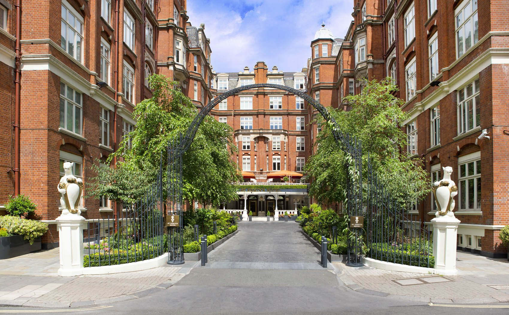 St Ermin's exterior day