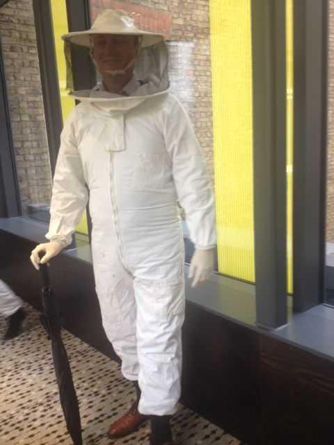 """Michael the very """"bee"""" Gentleman"""