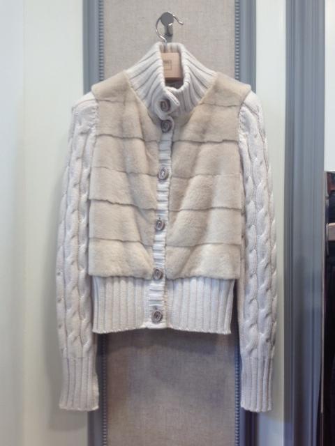 """Sweet and warm"" Fedeli women hoodie"
