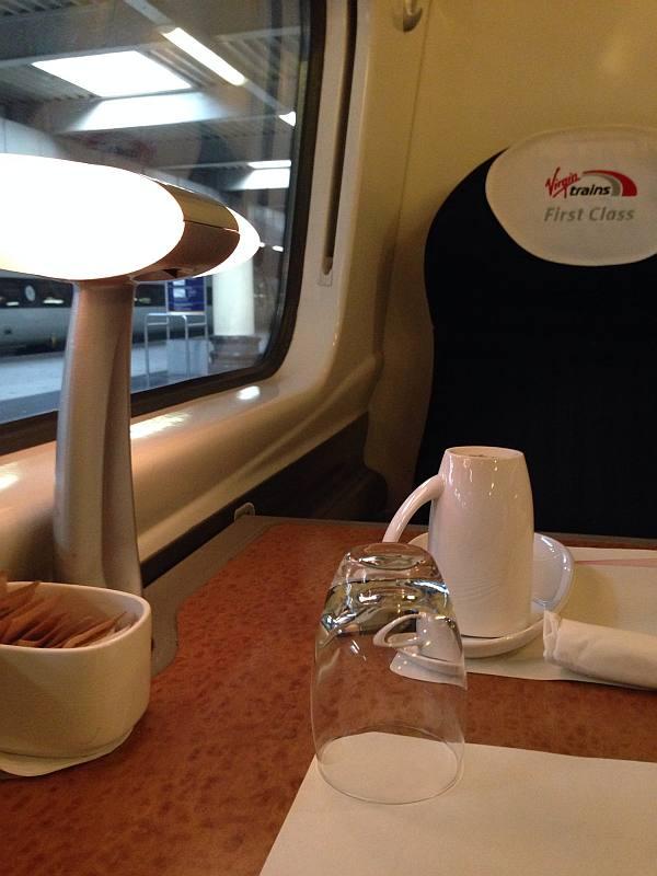Virgin 1st Class to Manchester