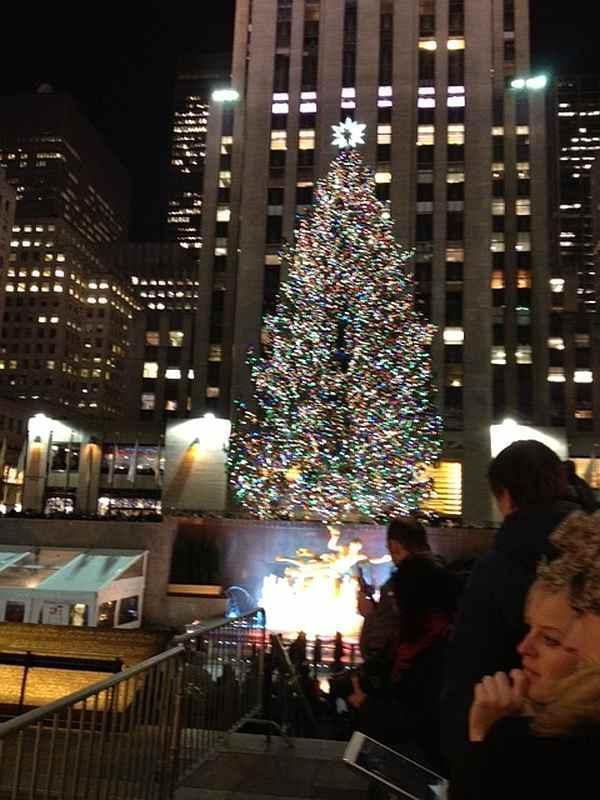 Gentle Christmas tree
