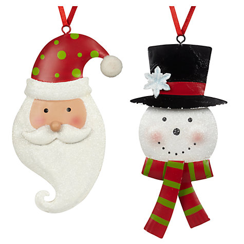 Mister Santa and Mister Snowman