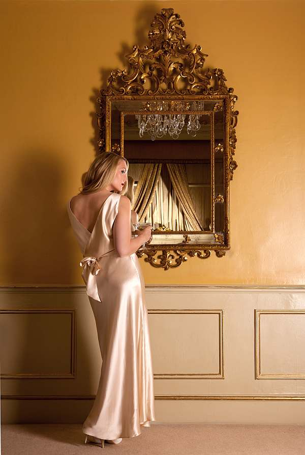 Harlow & Fox Eleanor Almond Gown