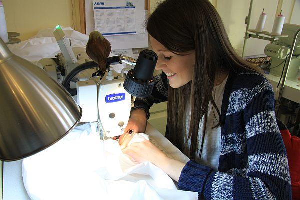 Emma Willis Shirt Production
