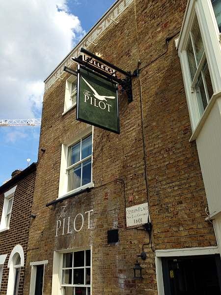 The Pilot Pub, close to The 02