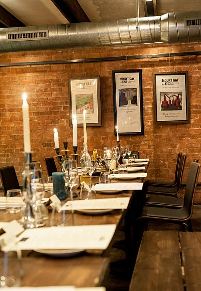 Mount Gay Rum Storied Supper at Dabbous in Fitzrovia