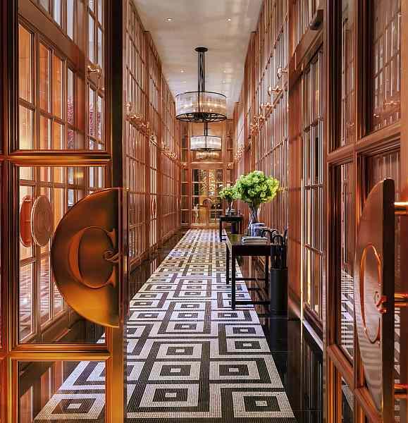 Rosewood London - Rose Bronze Entrance