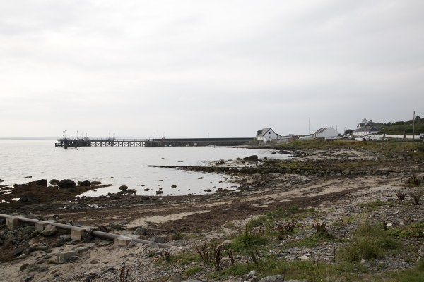 Bruichladdich - The rugged coastline on which the distillery is sited