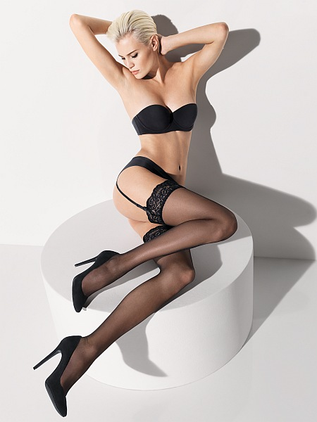 Wolford Stockings Affaire 10 stocking