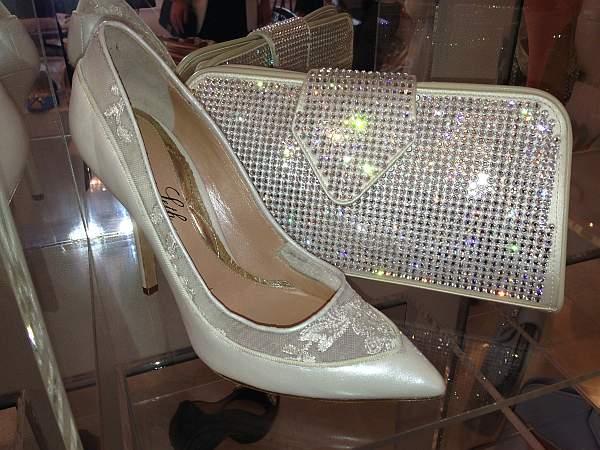 Aruna Seth bag and shoes
