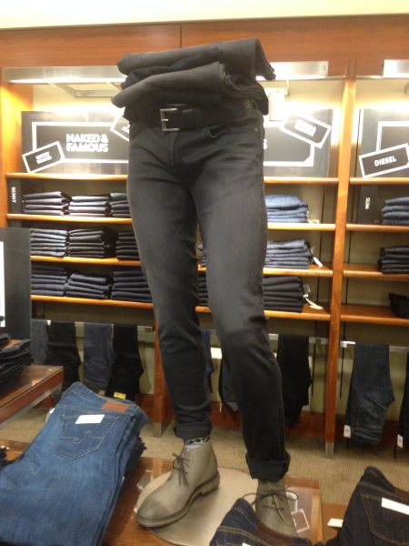 Rugged Chic - Jean look - Nordstrom, Mall of America