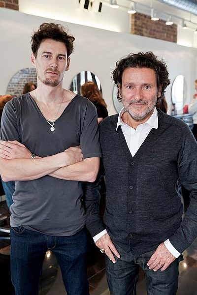 Top Session Stylist Stephen Low and Neville Tucker - Neville Hair and Beauty, 5 Pont Street, Belgravia, London SW1