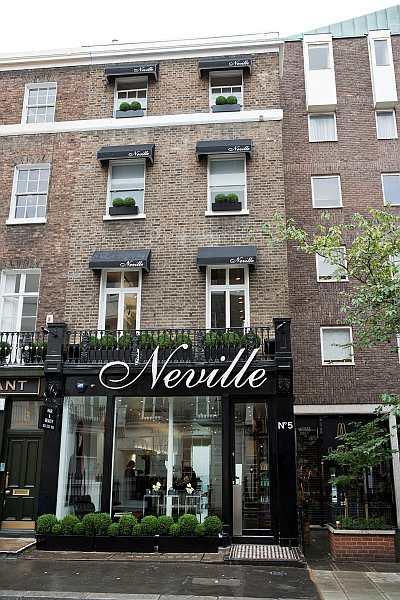 Neville Hair and Beauty, 5 Pont Street, Belgravia, London SW1