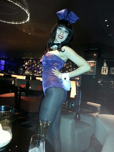 Playboy Bunny in Salvatores, Playboy Club London
