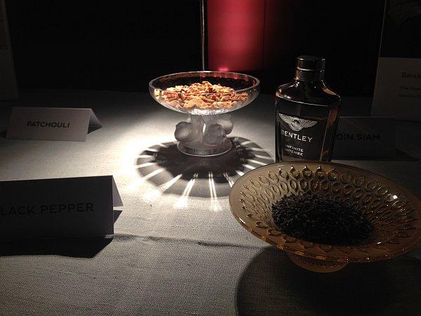 Bentley Infinite luxury fragrance for Gentlemen - Ingredients