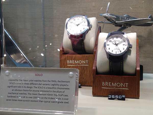Bremont Watches Solo