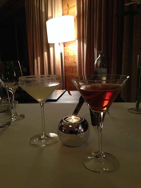 cocktails at the hotel aurelio, luxury dining at the hotel aurelio