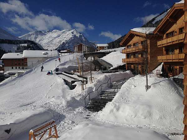 luxury ski resort austria