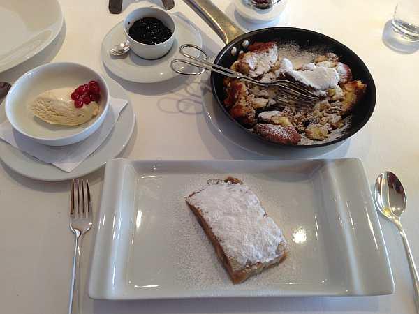 pudding at the hotel aurelio, the best ski hotels, cuisine at the hotel aurelio