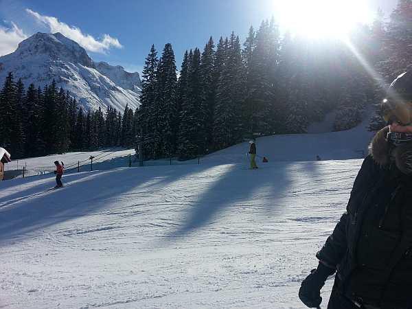 luxury skiing austria, luxury skiing lech, the best skiing in austria
