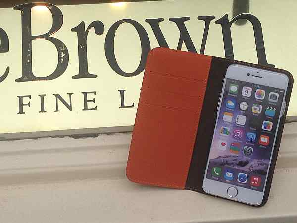 leather iphone cover, gentlemens iphone cover