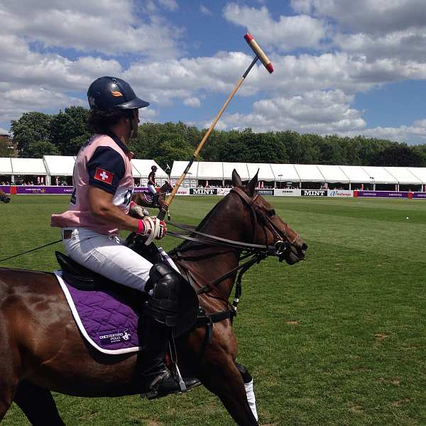 Polo in the Park - player