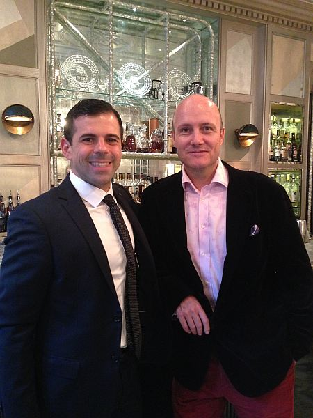 The Connaught - Agostino Perrone and Michael Grenville, Editor-in-Chief of Gentlemans Butler