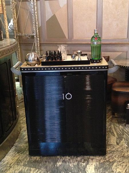 The Connaught Bar - Number 10 Cocktail Cabinet, one for The Prime Minister David Cameron