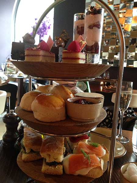 Cucina Asellina - Cake Tower. Italian Afternoon Tea on The Strand, London