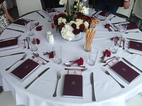 Qatar Goodwood Festival: Luxury Dining - Beautifully presented