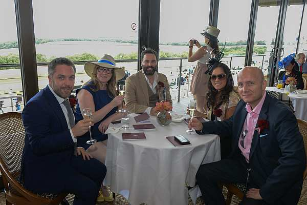 Glorious Goodwood - Gentlemans Butler with colleagues courtesy of Qatar Hospitality
