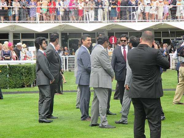 Glorious Goodwood - Qatari VIP's