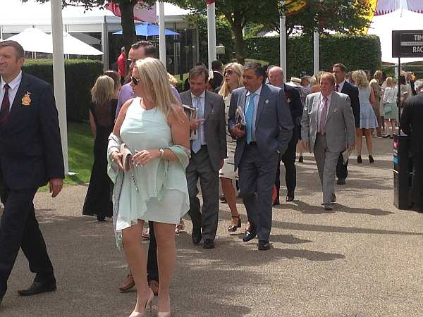 Glorious Goodwood - The Great and Good arrive