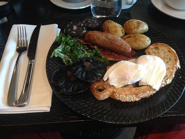Mondrian Hotel, London - Farmers Breakfast