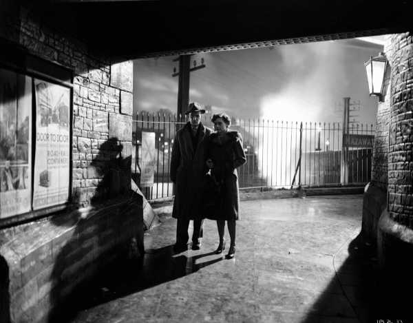 Brief Encounter with Trevor Howard and Celia Celia Johnson. ITV studios 70th anniversary reissue