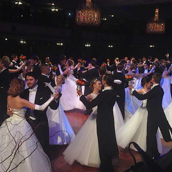 3rd Russian Debutante Ball - Debutantes & Gentleman dancing in London