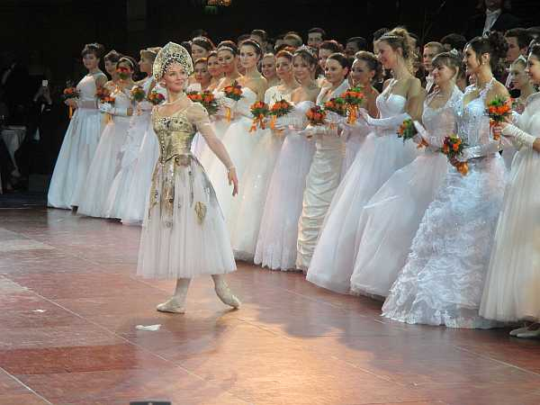 3rd Russian Debutante Ball - Debutantes & Prima Ballerina Evgenia Obraztsova