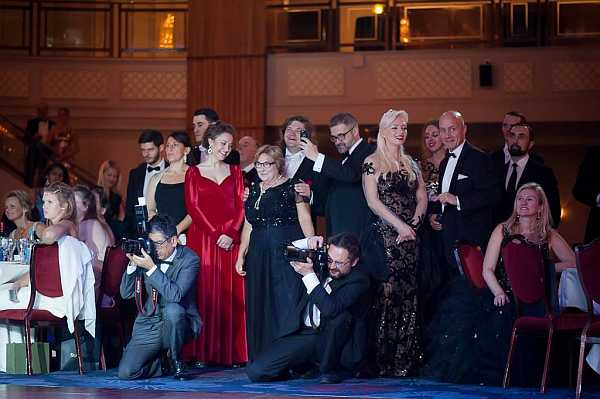 3rd Russian Debutante Ball - Photographers, onlookers, Lana Holloway & Michael Grenville
