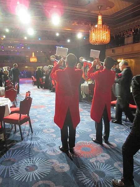 3rd Russian Debutante Ball - Trumpeteers
