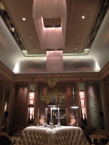 The Langham London Palm Court Luxury Restaurant
