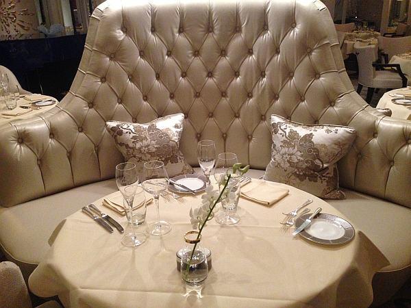 The Langham London Palm Court Restaurant, a perfect luxurious and romantic venue