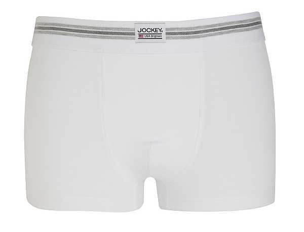 Gentlemans Underwear - White Jockey Trunks
