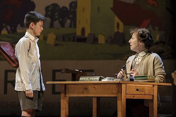 Alex Taylor-McDowall and Georgina Sutton in Goodnight Mister Tom 2015 - Credit Dan Tsantilis