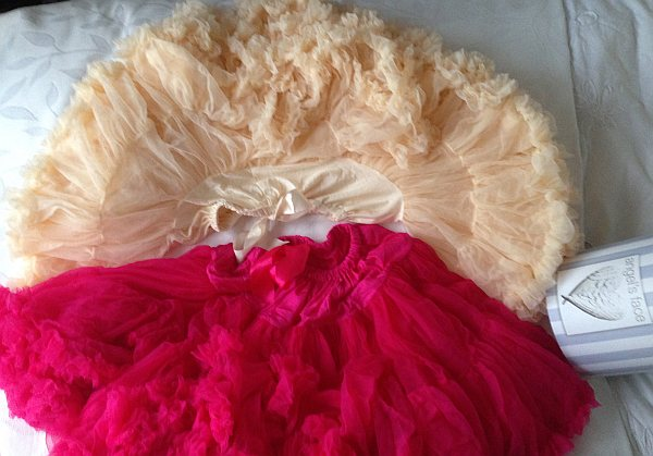 Angel's Face Petticoat/Tutu pink & vanilla