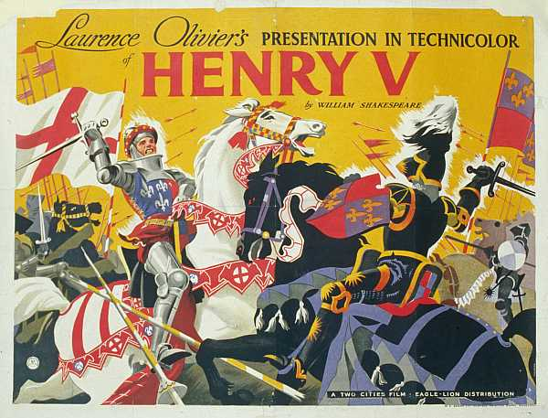 Henry 5th film -- The Battle of Agincourt 600th Anniversary Exhibition